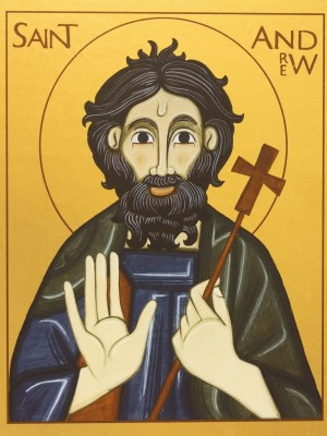 Saint Andrew Icon