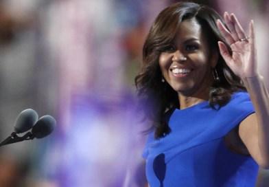 Michelle Obama é a mulher mais admirada do mundo