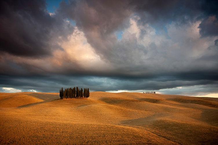 As paisagens de Marcin Sobas