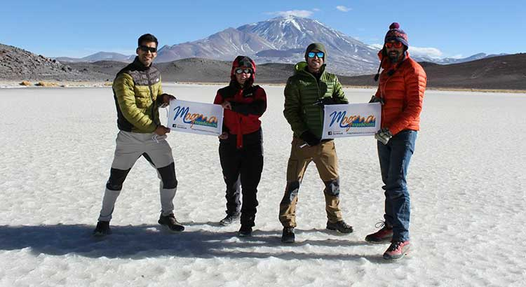 Finde largo en el Cerro Pedro Zanni