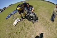 Saltos en paracaídas en Córdoba
