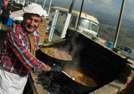 Una fiesta gastronómica al pie del Champaquí