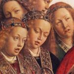 Angeles cantando. Van Eyck