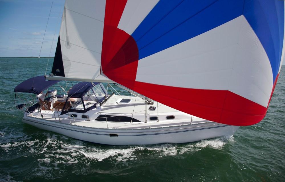 medium resolution of catalina 385 full sail