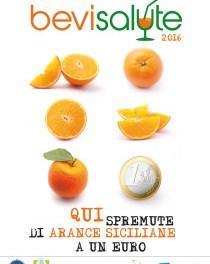 Bevi Salute 2016: spremute di arance siciliane a 1 euro