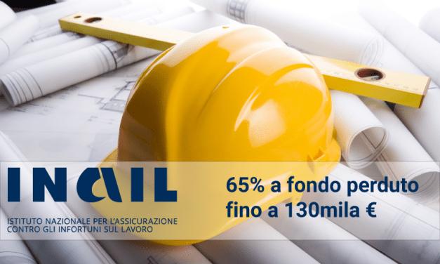 Bando Isi INAIL 2018 per la salute e la sicurezza dei lavoratori: 13 punti ai progetti condivisi con Ente Bilaterale