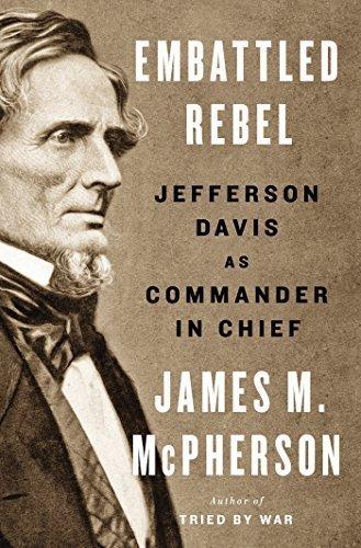 Embattled Rebel Jefferson Davis book cover AMAZON dot COM