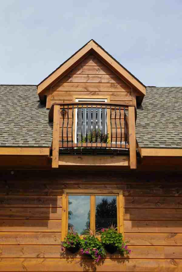 12 Mile Lake Confederation Log & Timber Frame