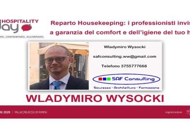 Il Segretario Generale Nazionale della CNL Wladymiro Wysocki ospite all'Hospitality Day 2020