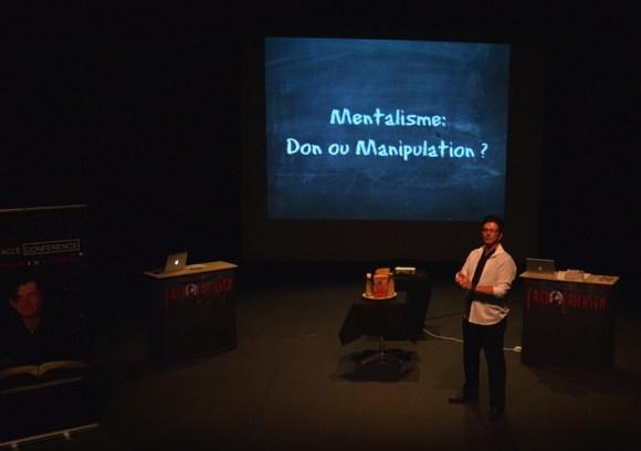 conférencier mentaliste - conférence spectacle