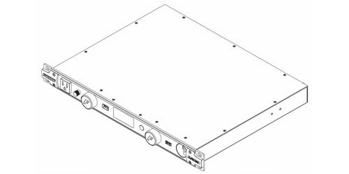 Furman PL-PRO DMC 20A Power Conditioner: Lights, Volt/Amp