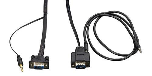 AMX CBL-RGB+A-FL FG10-2183-16 16' Flat VGA with Audio