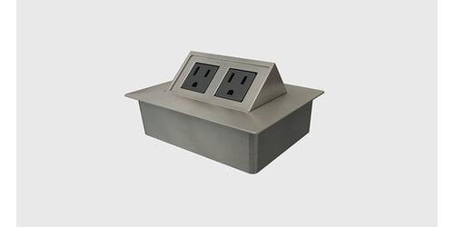 Byrne Glenbeigh Contemporary 2 Power Tilt Up Table Box