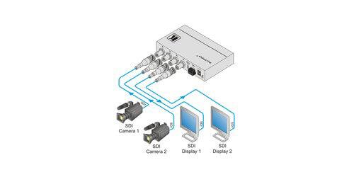 Kramer VS-211HDxl 90-70818090 2x1:2 3G HD-SDI Automatic