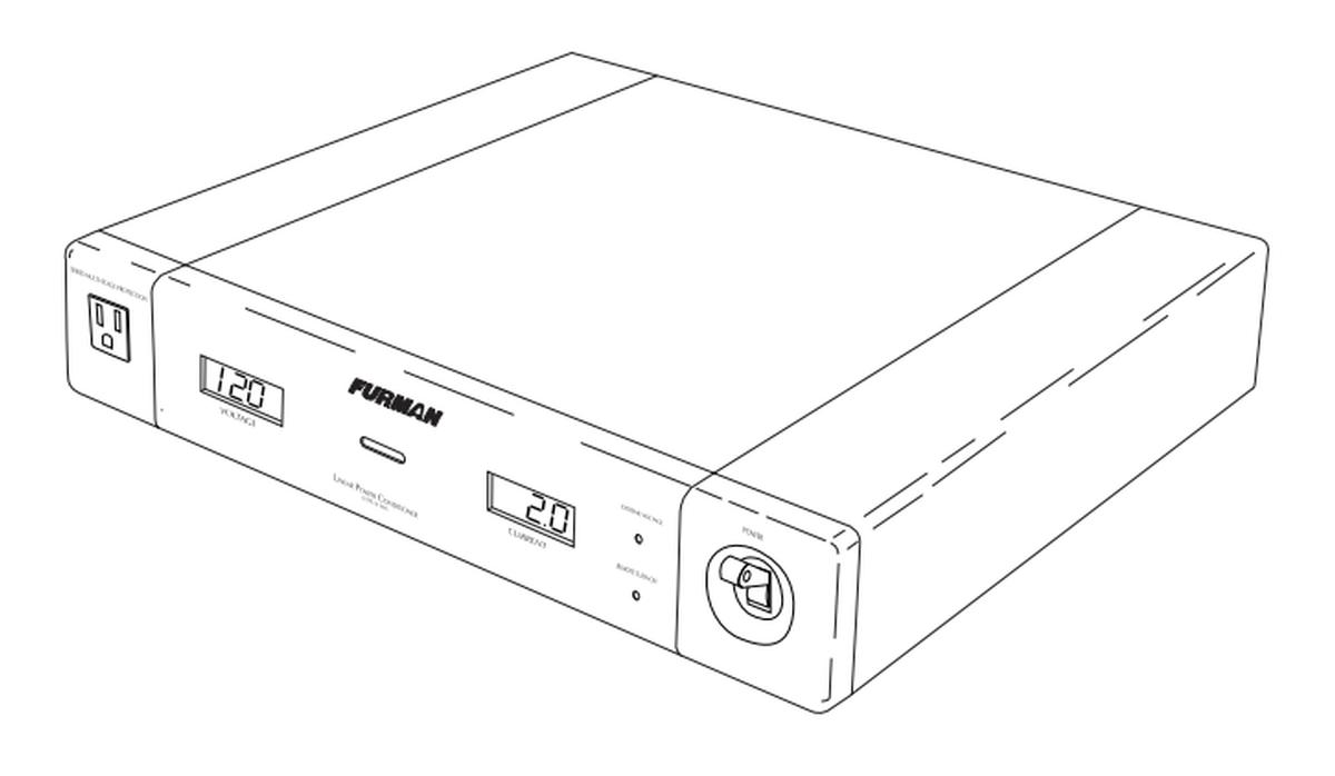 Furman ELITE-15 DM I Power Source Conditioner w/ Digital