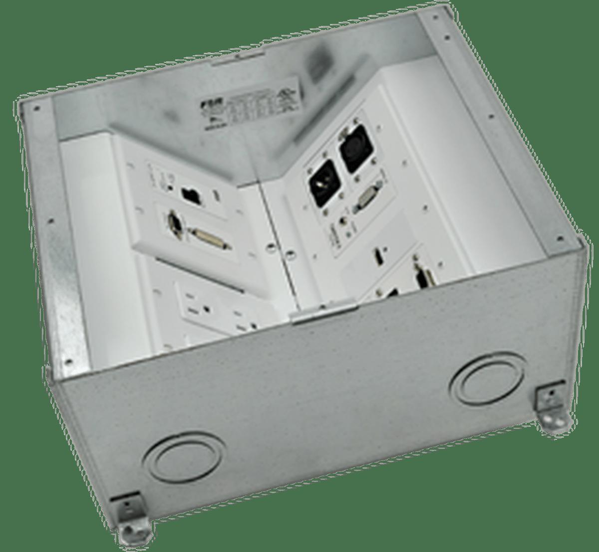 FSR FL500P4B UL Listed Floor Pour Box  4 Deep
