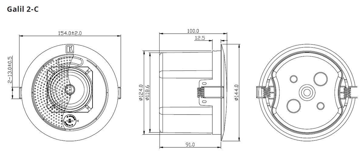 Kramer GALIL 2-C 60-000094 2.5