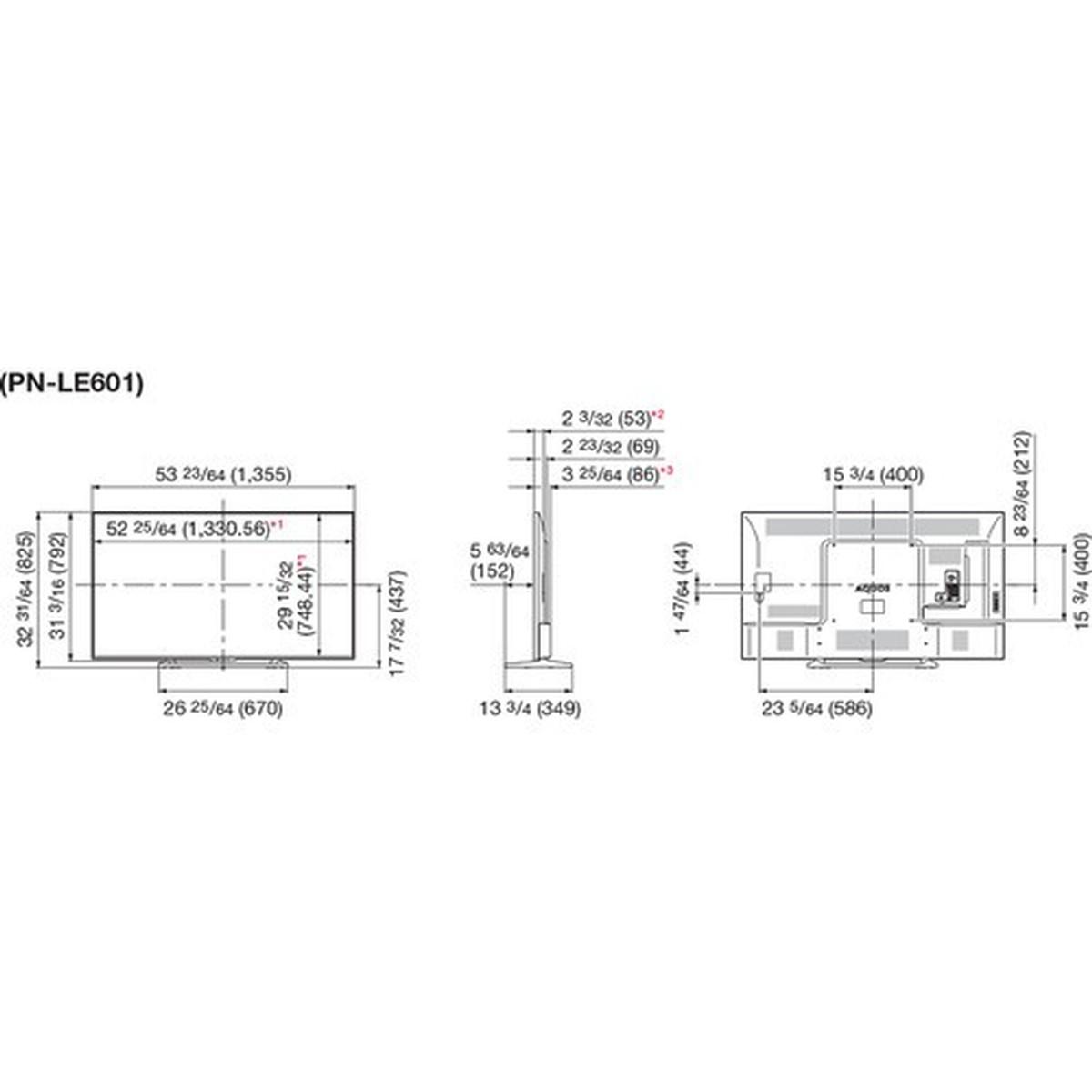 Sharp PN-LE601 60