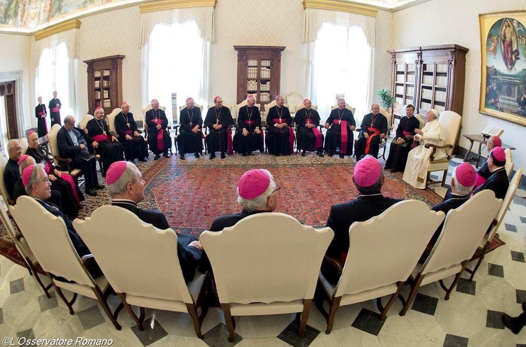 Discurso do Papa Francisco aos Bisposda Conferência Episcopal de Portugal em visita «Ad Limina Apostolorum»
