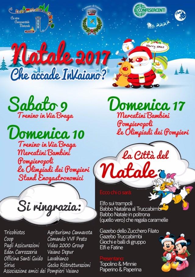 VAIANO natale 2017