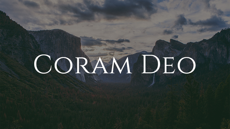 Image result for coram deo