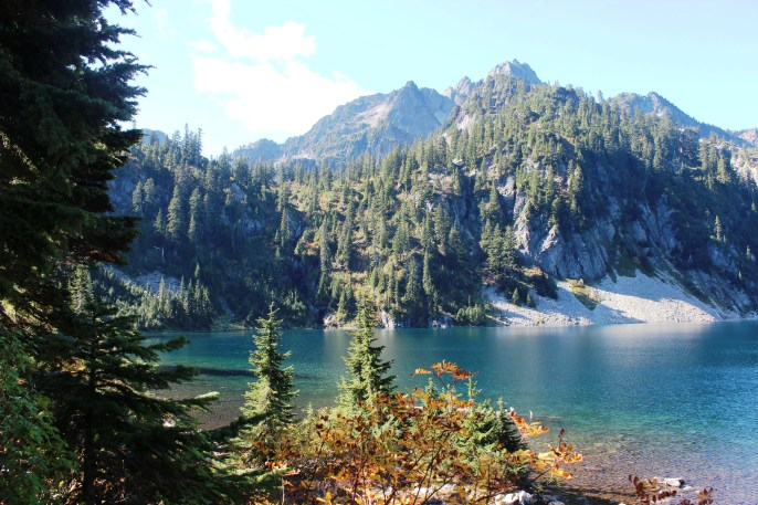 A Hike to Snow Lake, Washington