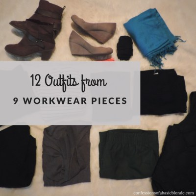 12 Outfits from 9 Workwear Pieces