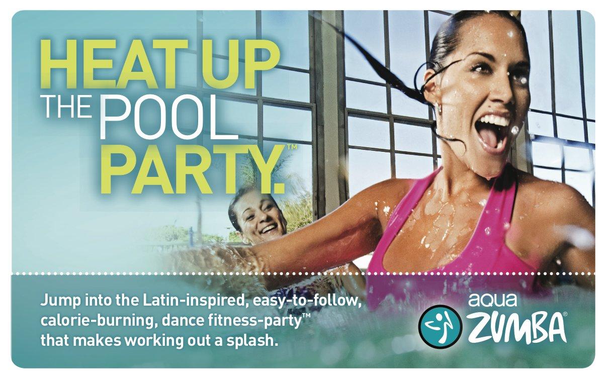 Aqua Zumba Poster