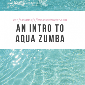An Intro to Aqua Zumba