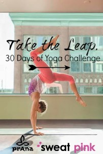 Take The Leap: 30 Days of Yoga!