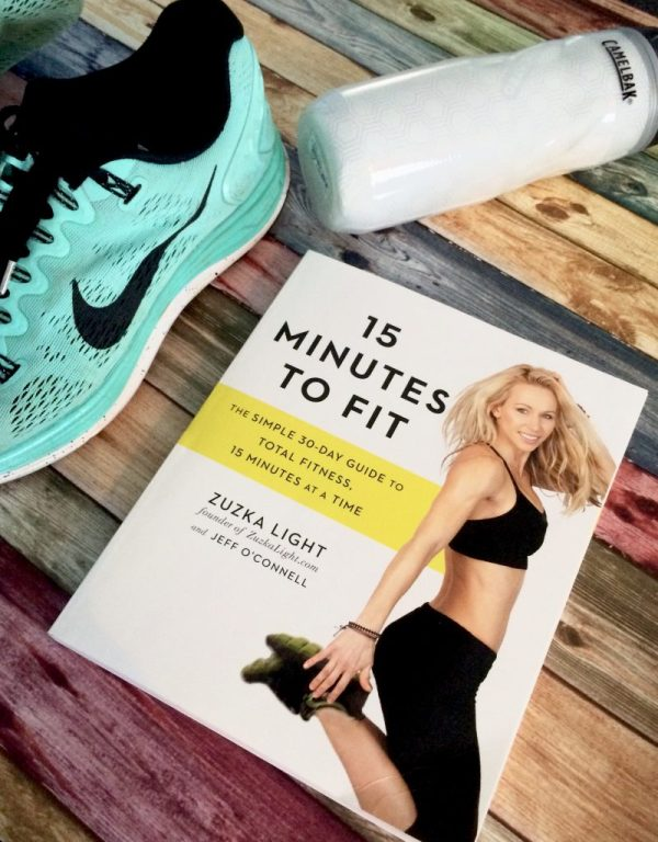 If getting healthy and fit is on your list of fitness goals for 2016, 15 Minutes To Fit is a must have book!