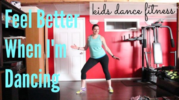 Kids Dance Fitness/Zuma ROutine to Feel Better When I'm Dancing - great for getting kids active and having fun!