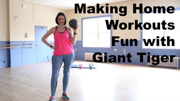 Make your next fitness workout more fun with strength training equipment (including kettle bells) from Giant Tiger!