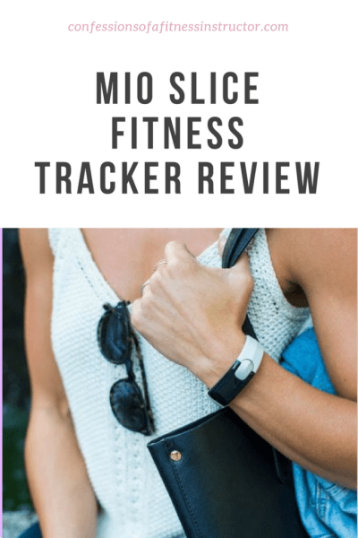 a review of the mio slice activity, exercise and fitness tracker.