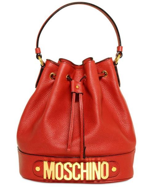 Moschino bucket bag