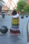 What Mia Ray Wore: Target Xhilaration Tribal Maxi Dress