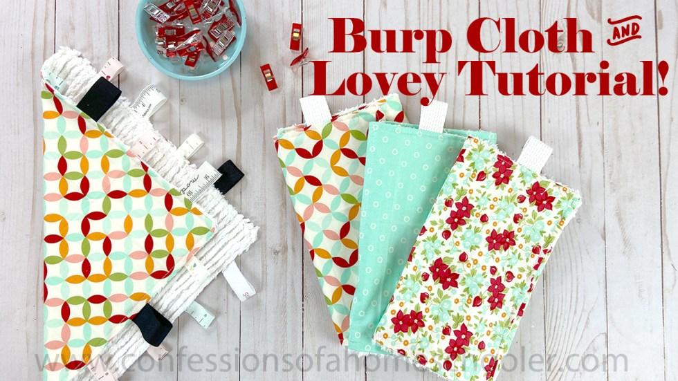 burpcloth yt