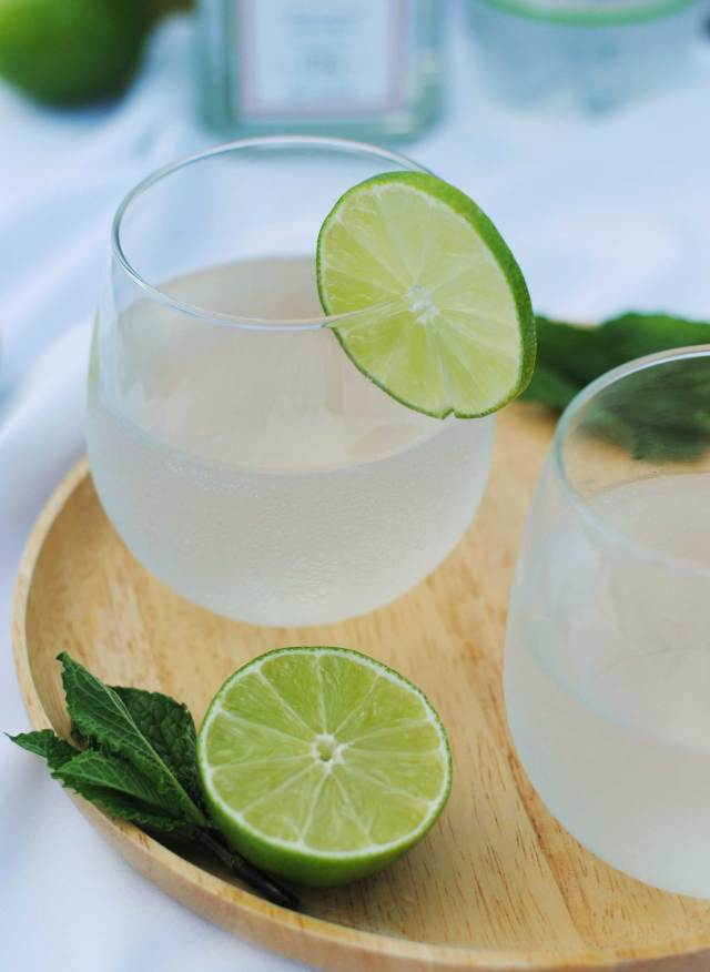 Coconut Gin & Tonic | Confessions of a Midnight Baker