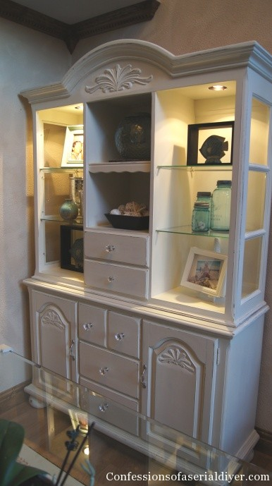 China Cabinet Makeover  Confessions of a Serial Doit