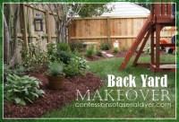 Back Yard Makeover