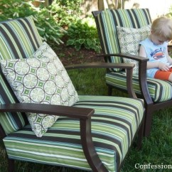 Do It Yourself Patio Chair Cushions Revolving Repair In Pune Sew Easy Outdoor Cushion Covers Part 1 How To The Way