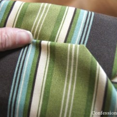 How To Make A Slipcover For Sofa Small Modular Australia Sew Easy Outdoor Cushion Covers {oldie, But Goodie ...