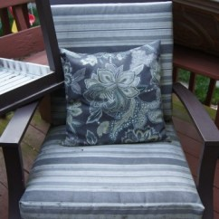 Chair Cushion Cover Ladies Bedroom Sew Easy Outdoor Covers Part 1 And The Deck Gross Not To Worry Though I Spent Past Three Days Out There Believe Me My Arms Are Happy Right Now
