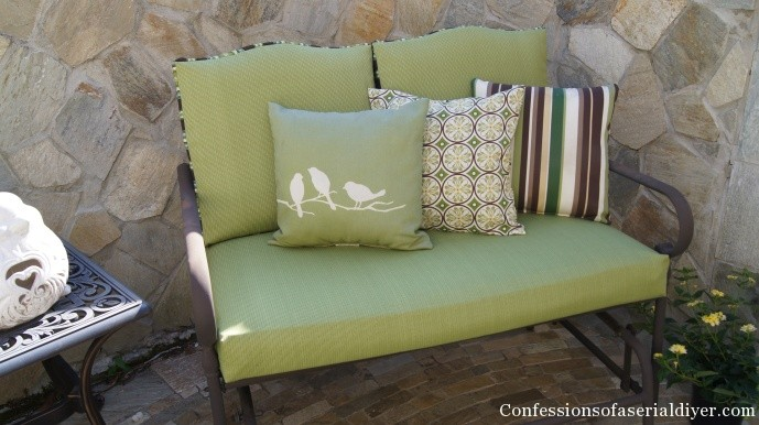 sofa box cushion covers bed couches sydney sew easy outdoor part 2 how to cover cushions