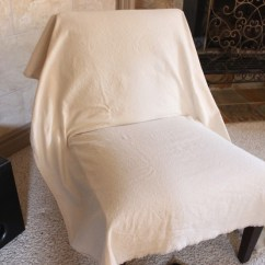How To Make Slipcover For Wingback Chair Desk Gaming Slipcovering An Armless Accent Slip Covering