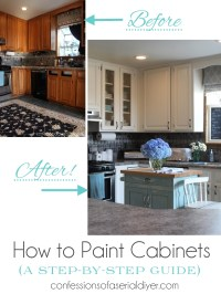 How to Paint Kitchen Cabinets (A Step-by-Step Guide ...