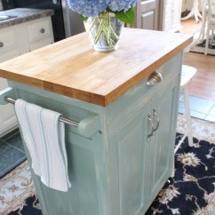 Movable Islands For Kitchen Remodeling Chicago Rolling Cart Makeover   Confessions Of A Serial Do ...