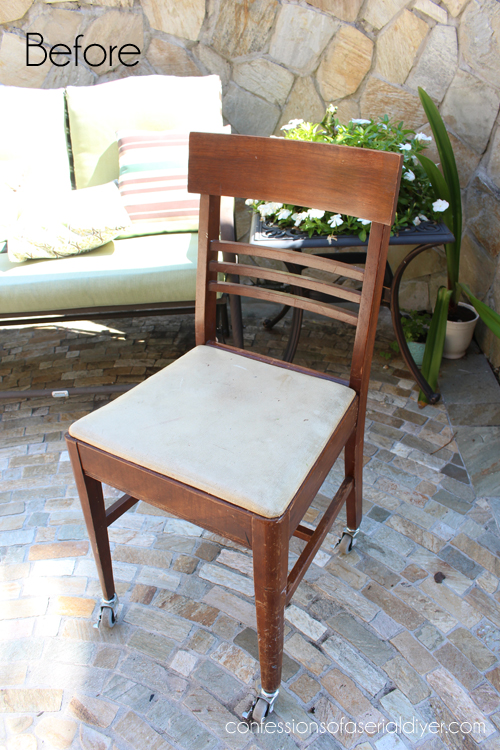 antique sewing chair hayneedle adirondack chairs with a drawer secret 1