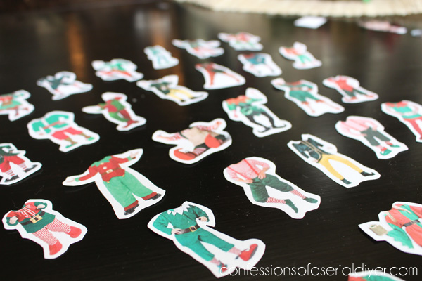 Fun Christmas Place Cards Confessions Of A Serial Do It