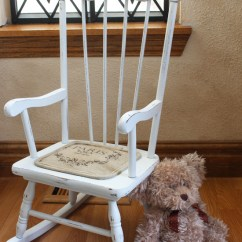 Rocking Chair Cushion High Back Chairs For Dining Room Shabby Little | Confessions Of A Serial Do-it-yourselfer
